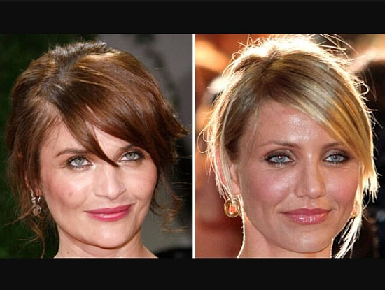 Helena Christensen and Cameron Diaz