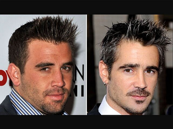Jason Wahler and Colin Farrell