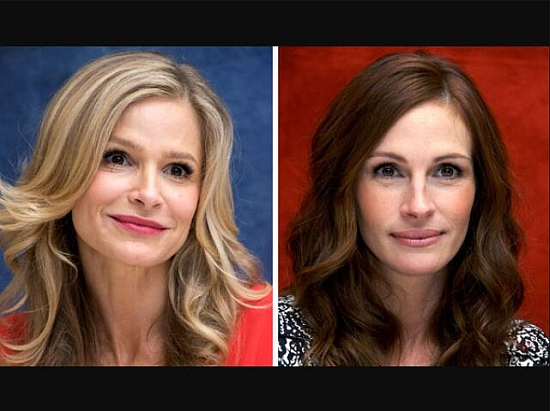 Kyra Sedgwick and Julia Roberts