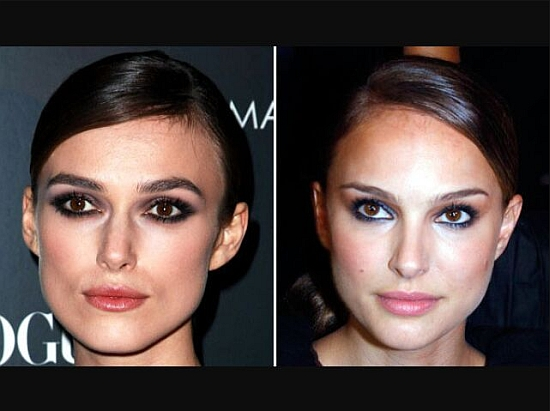 Keira Knightley and Natalie Portman
