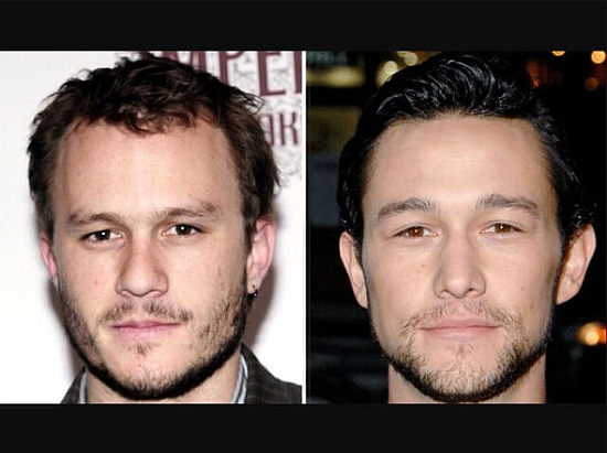Heath Ledger and Joseph Gordon-Levitt