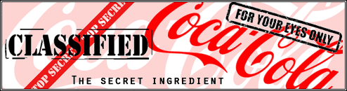 BREAKING: Secret ingredient of Coca-Cola