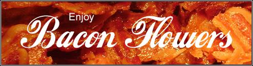 The Making of bacon roses - The perfect gift for bacon geeks