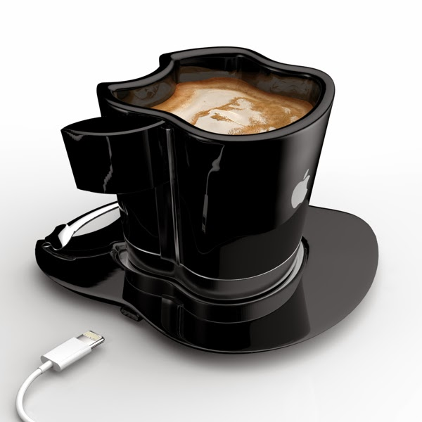 iCup - geeky mug for your iCoffee