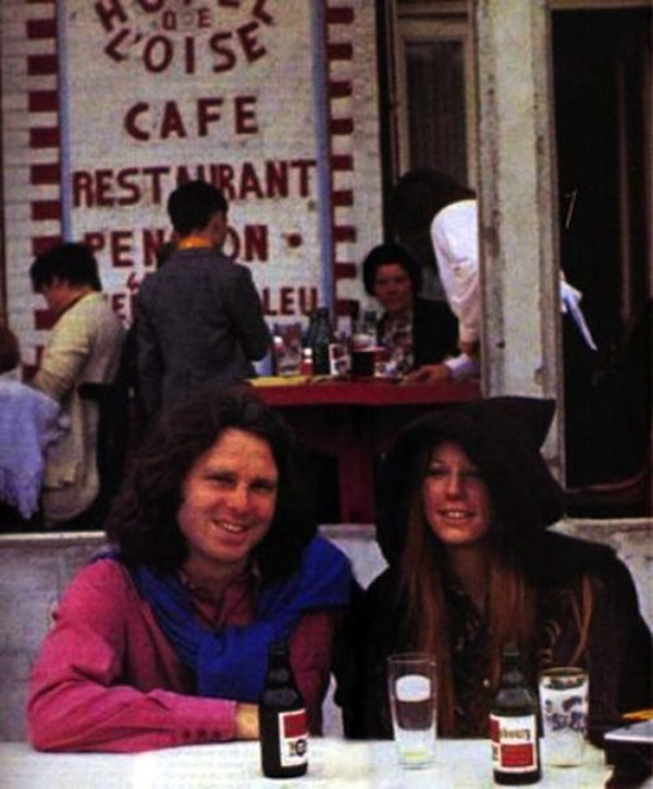 Last known photos of famous people - Jim Morrison