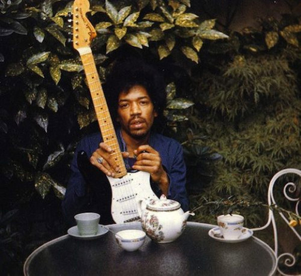 Last known photos of famous people - Jimi Hendrix